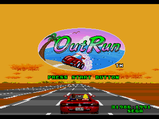 jeux de voiture megadrive